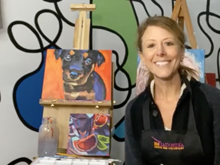 Karyn Blaney - Paint Your Pet Demo
