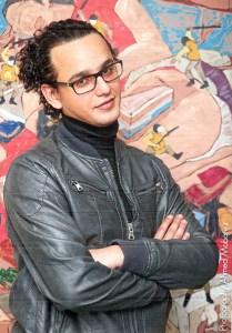 Image - Portrait of Ahmed Kassim.