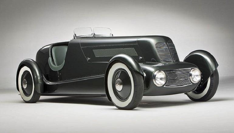 """Image - Edsel Ford Model 40 Special Speedster, 1934 designer Edsel Ford -American, 1893-1943-, designer Eugene T. """"Bob"""" Gregorie -American, 1908-2002, designer Ford Aircraft Division, American, 1924-1936, fabricator."""