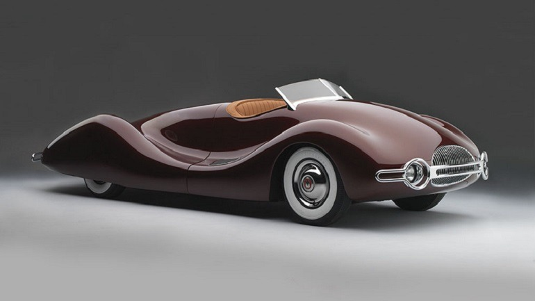 Image- Norman Timbs Special, 1947, is one of the beautiful cars by designer  Norman Timbs-American, 1917-1993