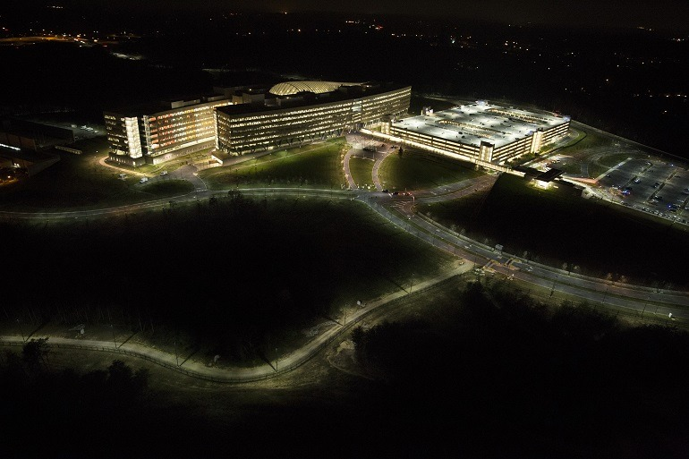 Image: Photograph of National Geospatial Intelligence Agency by Trevor Paglen, the Counter-surveillance photographer