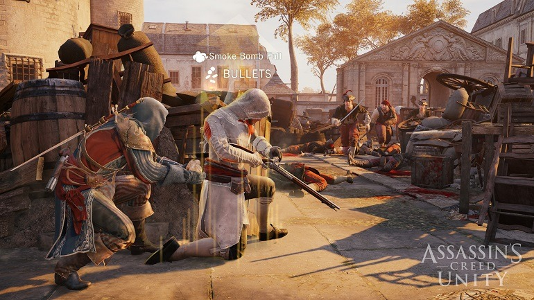 Image: Battle ready Assassins Creed Unity COOP Refill Point in a war for equality in the face of oppression