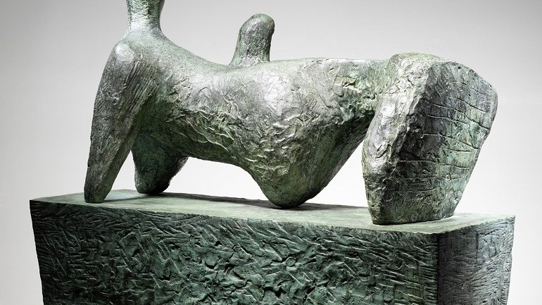 Henry Moore's Bronze Sculpture on Auction at Bonhams