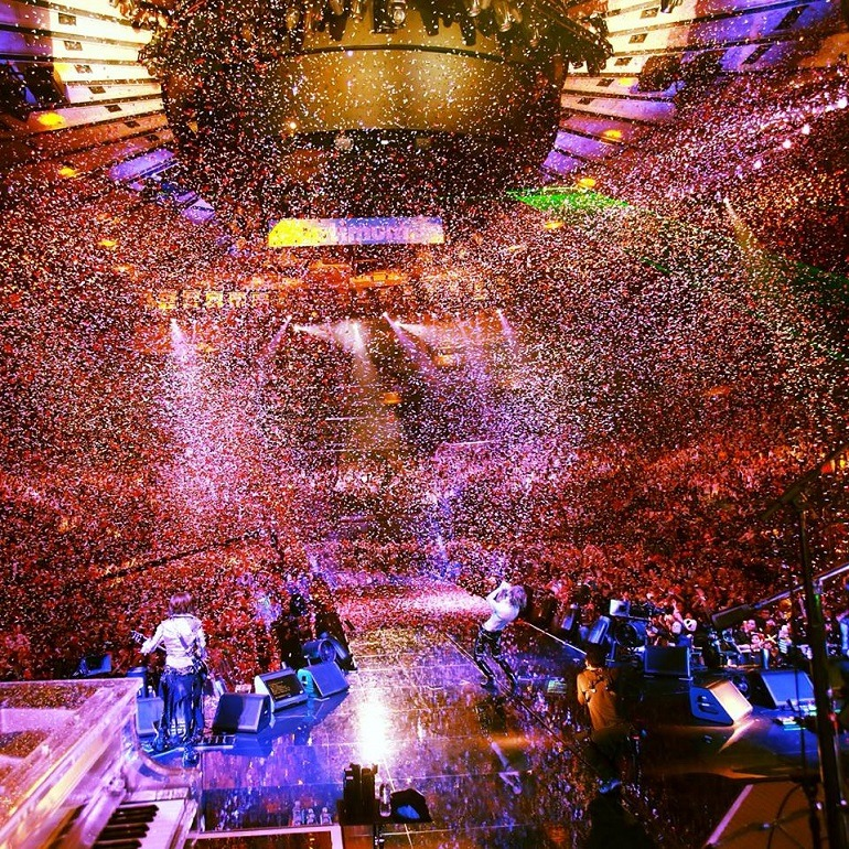 Image: Yoshiki, the celebrated pop icon  and X Japan thrilled fans to an amazing performance and fanfare at the Madison Square Garden, New York