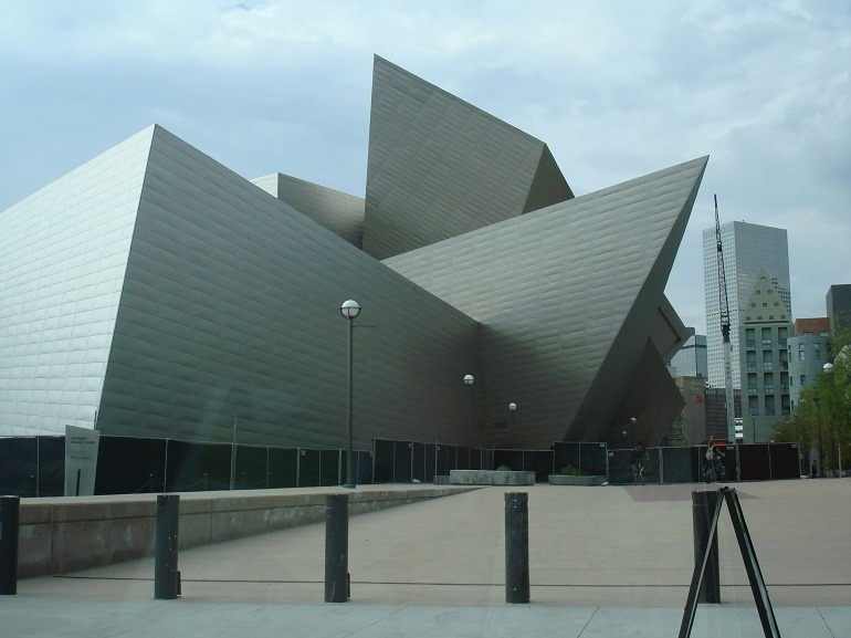 Image: Denver Art Museum (DAM) in Denver, CO. is one of the major museums in the United States