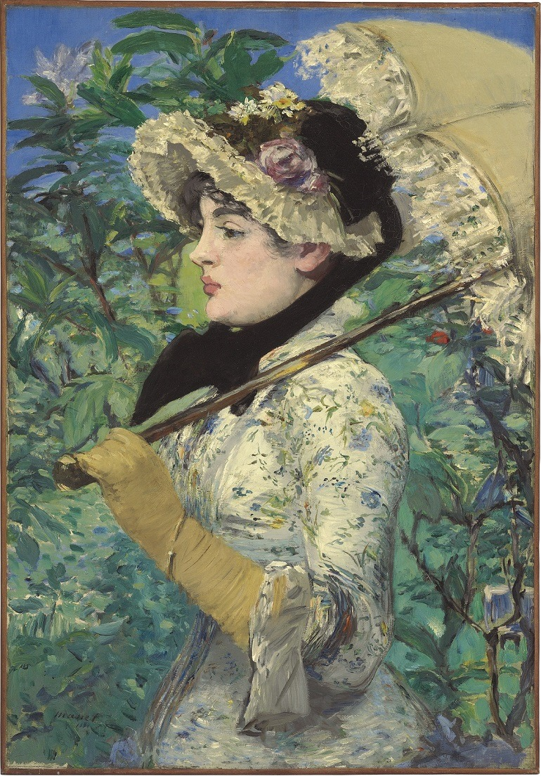 Image: Édouard Manet, Le Printemps, oil on canvas, painted in 1881. Sold   during Impressionist and Modern Art Evening Sale, New York