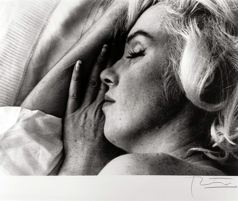 Image: 'Marilyn Monroe, Sleeping', 1962 by Bert Stern is one of the photographs of the actress, singer , model and sex symbol  that excited art collectors at Heritage auctions