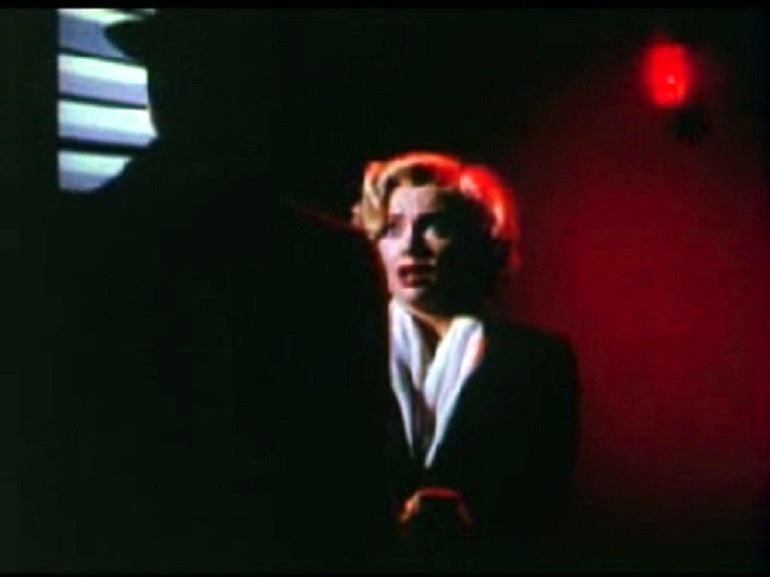 Image:  Marilyn Monroe is frightened in the theatrical trailer of the 1953 film Niagara directed by Henry Hathaway brought this famous American Actress and sex symbol  into limelight .Marilyn Monroe quotes