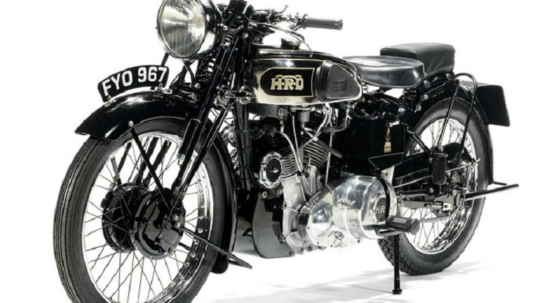 Motorcycle Meant for Scrap Yard  Sells for £275,900 at Bonhams