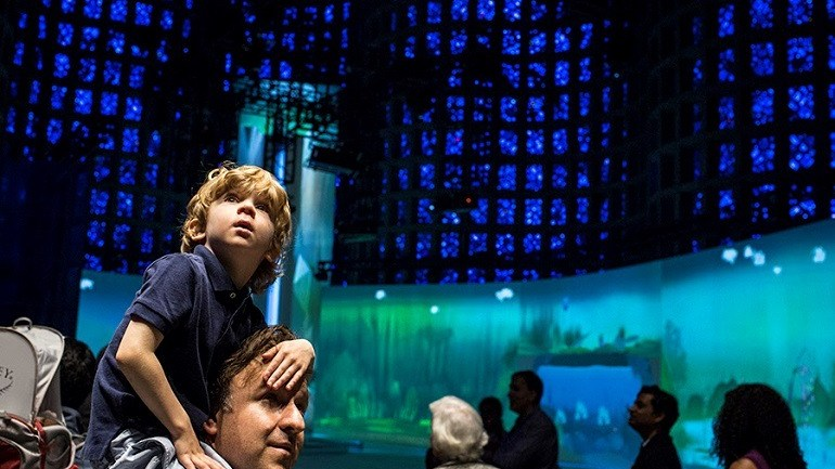 New York Hall of Science Reopens the Great Hall