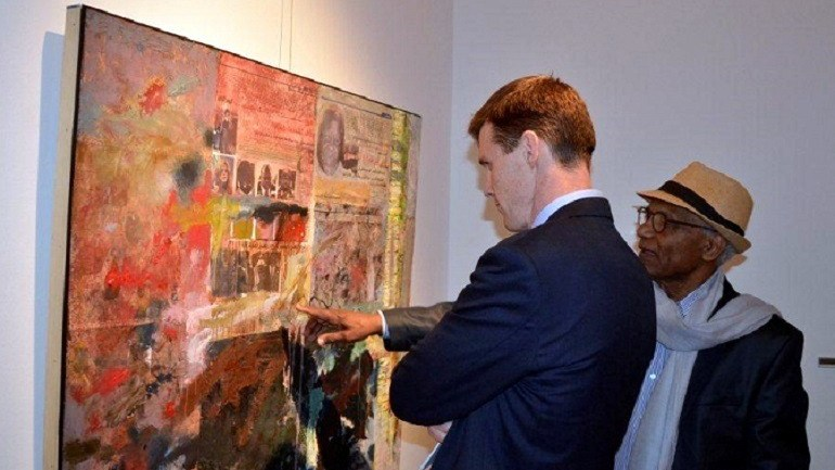 Al Masar Gallery Celebrates 7 Years With Famous Artists