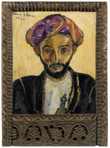 Image: Irma Stern's portrait painting titled 'Arab in Black' is expected to make history at the South African Sale- Art News/ auction-