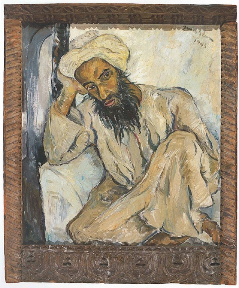 Image: Irma Stern's Arab Priest sold at Bonhams Auctions is the most expensive African art sold at the auction house