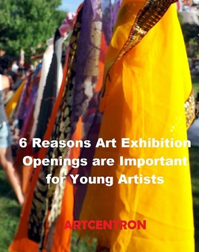 Image: 6 Reasons Art Exhibition Openings are Important for Young Artists