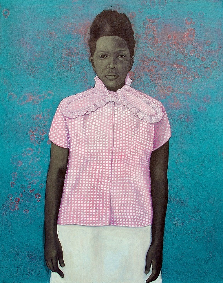 Image: Well Prepared and Maladjusted, 2008, oil on canvas by artist Amy Sherald