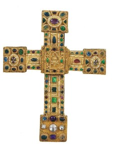 Image: Hezilo Cross, one of the Medieval Treasures from Hildesheim