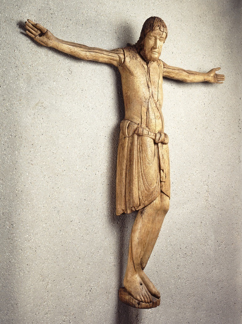 Image: Ringelheim Crucifix German one of the Medieval Treasures from Hildesheim