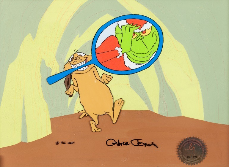 How The Grinch Stole Christmas 1966 Max.How The Grinch Stole Christmas Artworks Go On Sale