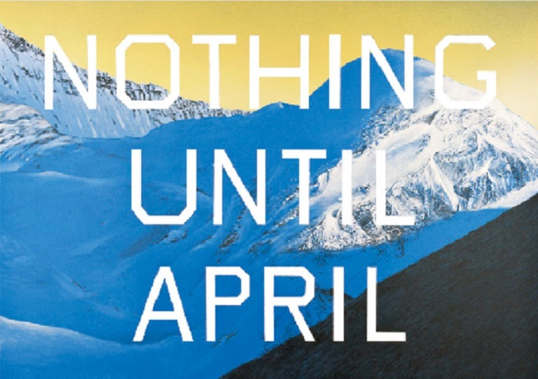 Image: Pay Nothing Until April 2003 by Edward Ruscha is one artworks on the artist website, one of Artcentron.com top ten artist websites