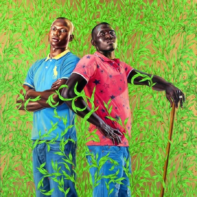Image: Diarra Mohamed and Mohamed Konate by Kehinde Wiley was one of the works on display at this year's Expo Chicago