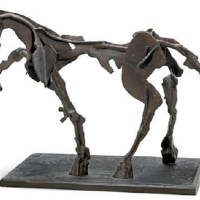 Image: Horse IV, a bronze sculpture by South African artist William Joseph Kentridge was one of the Top 10 Contemporary African Art Sold at Africa Now