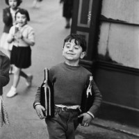 Image: Rue Mouffetard, Paris by Henri Cartier-Bresson, one of the photographs sold at Bonhams photography auction