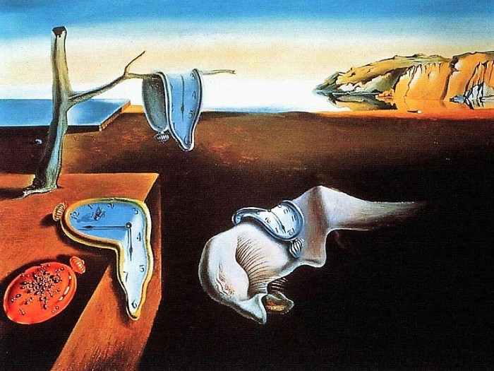 Image: The Persistence Of Memory, one of the famous paintings by Spanish artist and Surrealist icon Salvador Dalí on display at the Museum of Modern Art-Paternity controversy