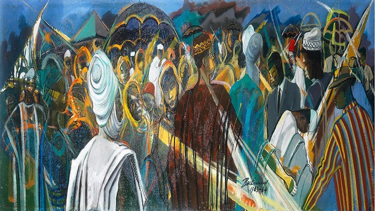 Nigerian Symphony by Ben Enwonwu Set for Auction