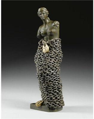 Clive Barker, Chained Vénus, 1971, coll. particulière