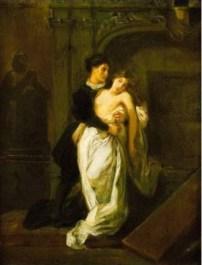 Delacroix, Roméo et Juliette