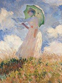 La femme à l'ombrelle, musée d'Orsay, 1886