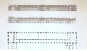 F. Nepveu, Projet pour la Galerie des Batailles, Versailles, Service de l'architecture