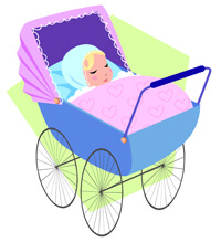 Baby in carriage MC900390780 200px