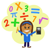 STEM Education Math Girl Scout 200px