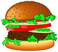 Junk food burger The Print Shop 2 200px