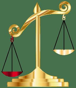 _Golden Off Balance Scale, GDJ 300px