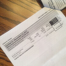 surgery cost - Medicare claim form