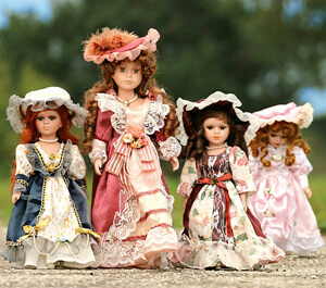 Downsize now: doll collection