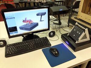 treasure hunt technology - 3D scanner