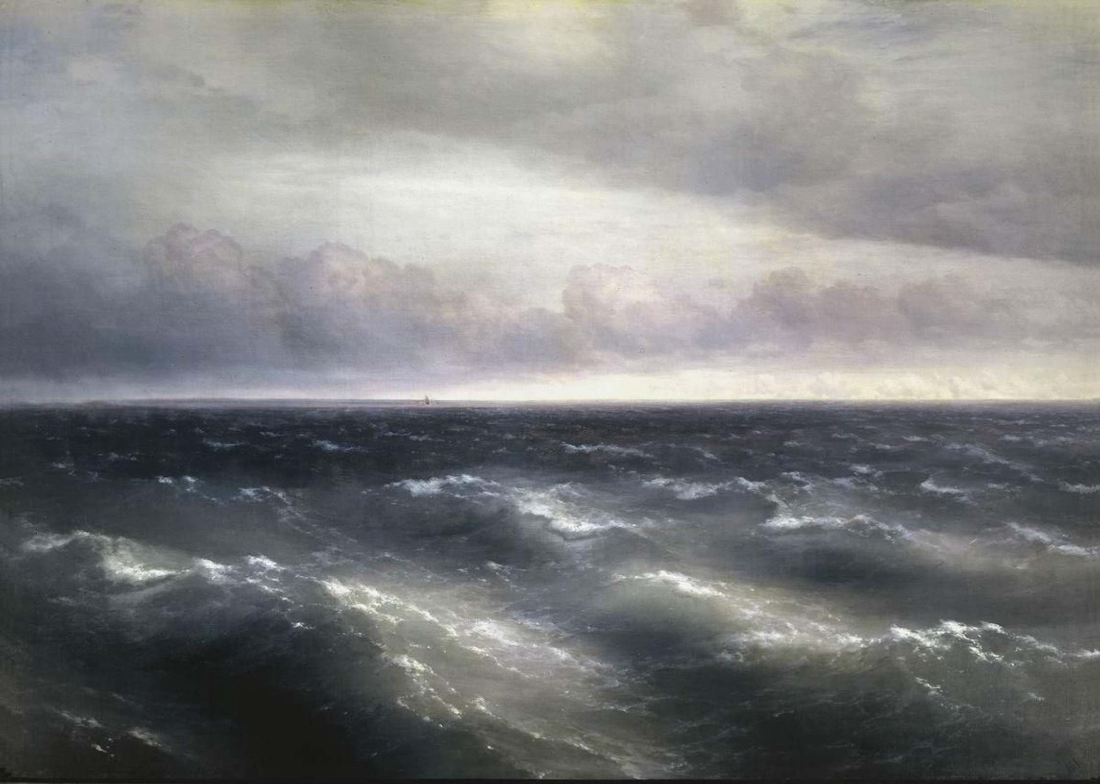 The Black Sea (1881) by Ivan Aivazovsky: Analysis & Overview