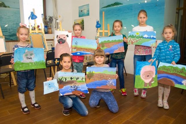 уроки рисования в детской группе