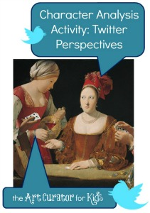 The Art Curator for Kids - Character Analysis Art Activity - Twitter Perspectives - 300