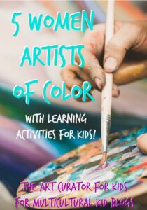 The Art Curator for Kids - 5 Women Artist of Color