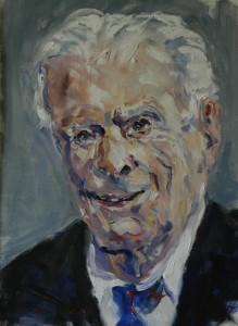 Portrait of WW1 veteran, Harry Patch