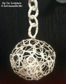 Zip Tie Sculpture - Zip Ties