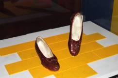 Wizard of Oz Slippers, Smithsonian