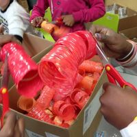 4th Grade Chihuly Sculpture Comes to Life - Steps to follow to make yours happen! (Final Phase 2/2)