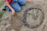 3rd Grade Andy Goldsworthy Day 1 (4)