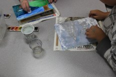 4th Grade Stained Glass Oiling (5)