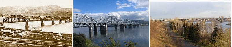 Pont metaliqeu sue Ienisseï